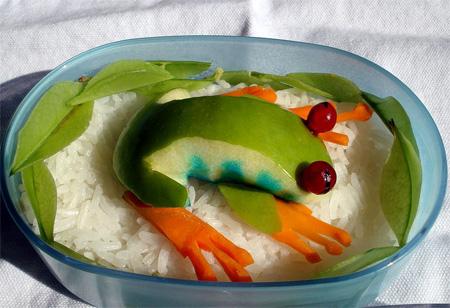 Toxel.com Creative-Food: Frog