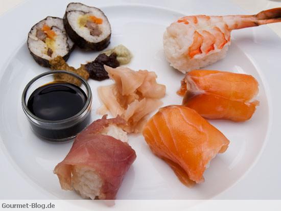 sushi-variationen-mit-wasabi-ingwer