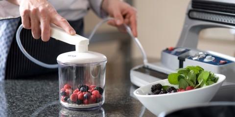 Vakuumiergerät für innovative Küche - Lebensmittel länger lagern!