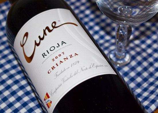 Cune Rioja Tinto Crianza BODEGAS CVNE 2007