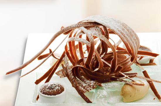 Rezept: Schokoladen-Spaghetti by Lutz Janisch