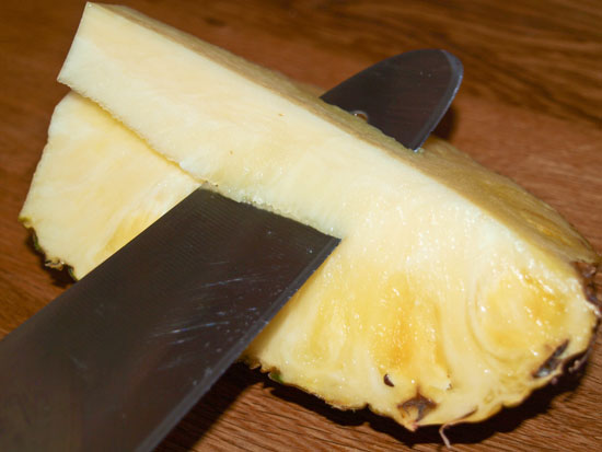 ananas-schaelen