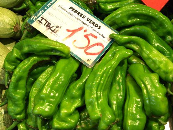 Grüner Paprika ist gesund