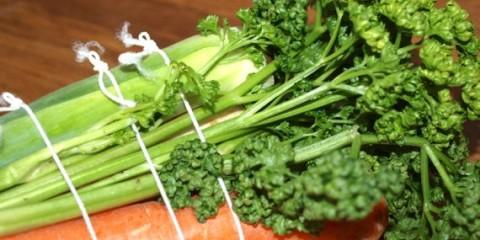 Petersilie und Suppengrün