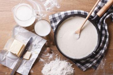 Béchamel-Sauce Zubereitung
