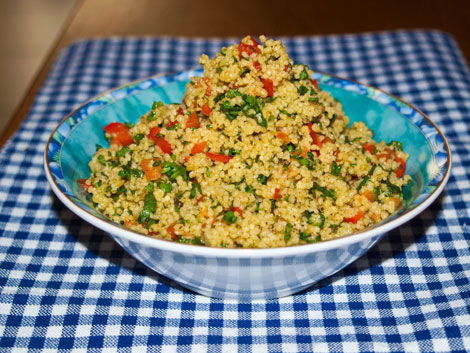 Tabouleh - leckerer libanesischer Salat