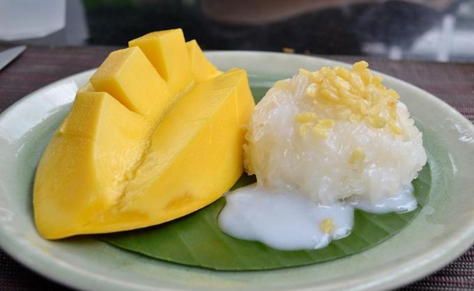 Mango und Sticky Rice