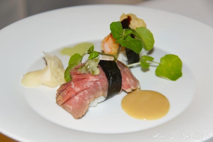 2.Fusion Sushi aus Flank & Bärenkrebs