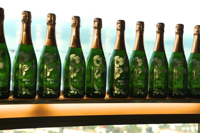 Perrier-Jouët Flaschensammlung