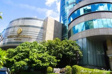 intercontinental-bangkok außenansicht