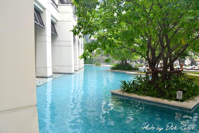 Der eigene Pool in Bangkok