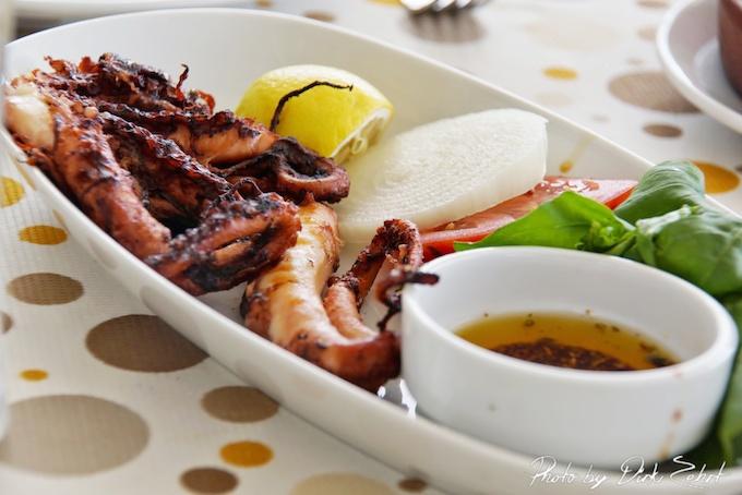 calamari gegrillt