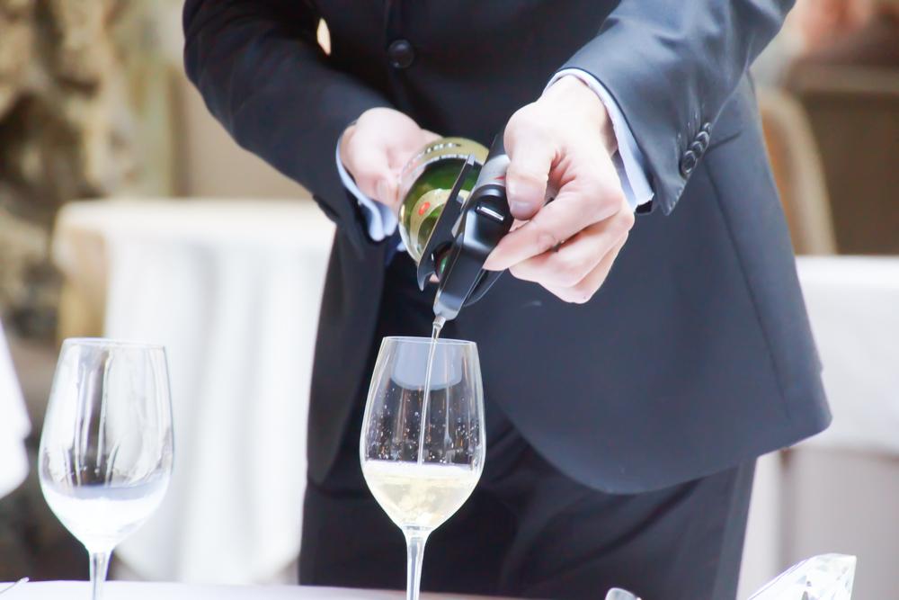 Champagner - Immer eine Freude zum Essen