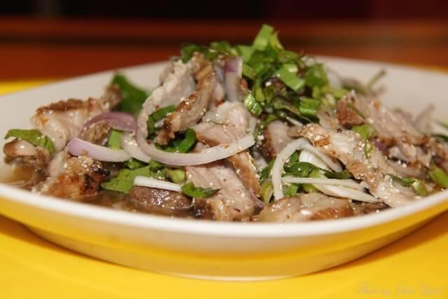 Typisches Essen in Bangkok