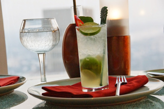 Egal ob essen oder auch nur ein feiner Cocktail - Für Sundowner bestens geeignet