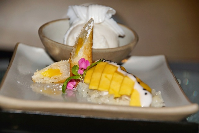 Abschluss ganz Thai - Mango und Sticky Rice