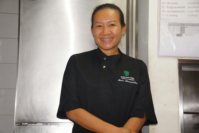 Chef Renu Homsombat leitet die Saffron Restaurants weltweit
