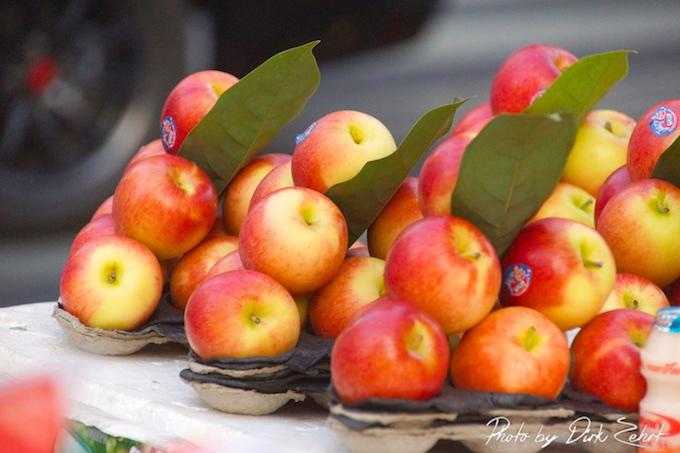 Apfel und ihre Kalorien