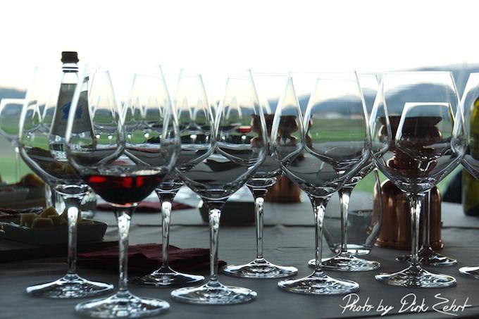 Tenuta Castelbuono - das Weintasting