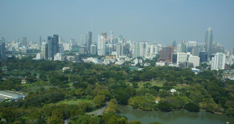 Bangkok und Lumpini Park - Schön warm zu Weihnachten