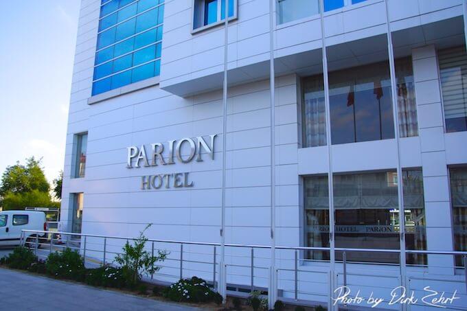 Parion Hotel Canakkale Außenansicht