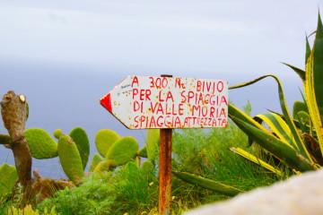 Schöne Aussichten auf Lipari