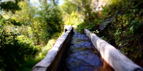Wasserwege im Wallis 2