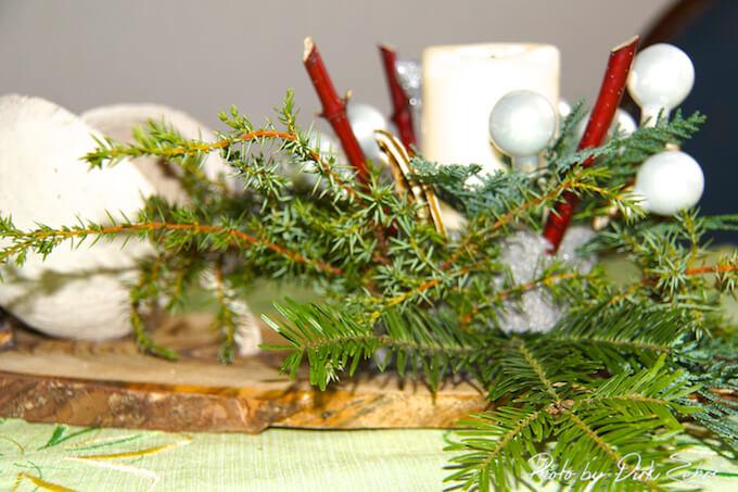 Weihnachtsgesteck zu Weihnachten