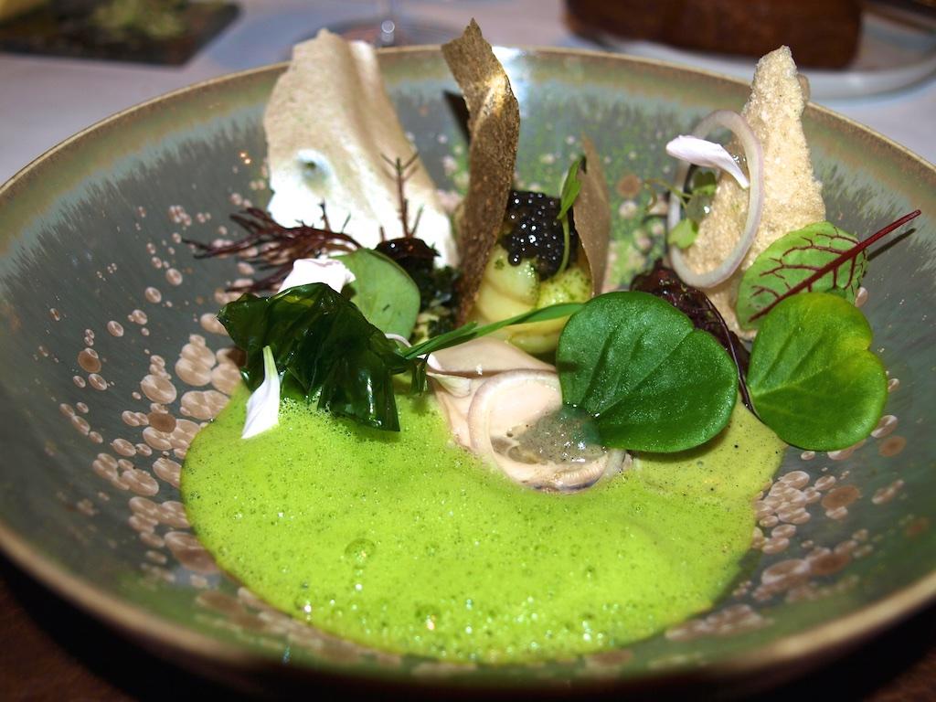 Suppen und Gourmet-Gerichte schmecken hervorragend mit Algen