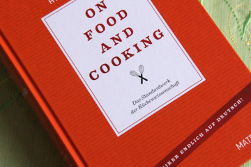 On Food and Cooking Buch
