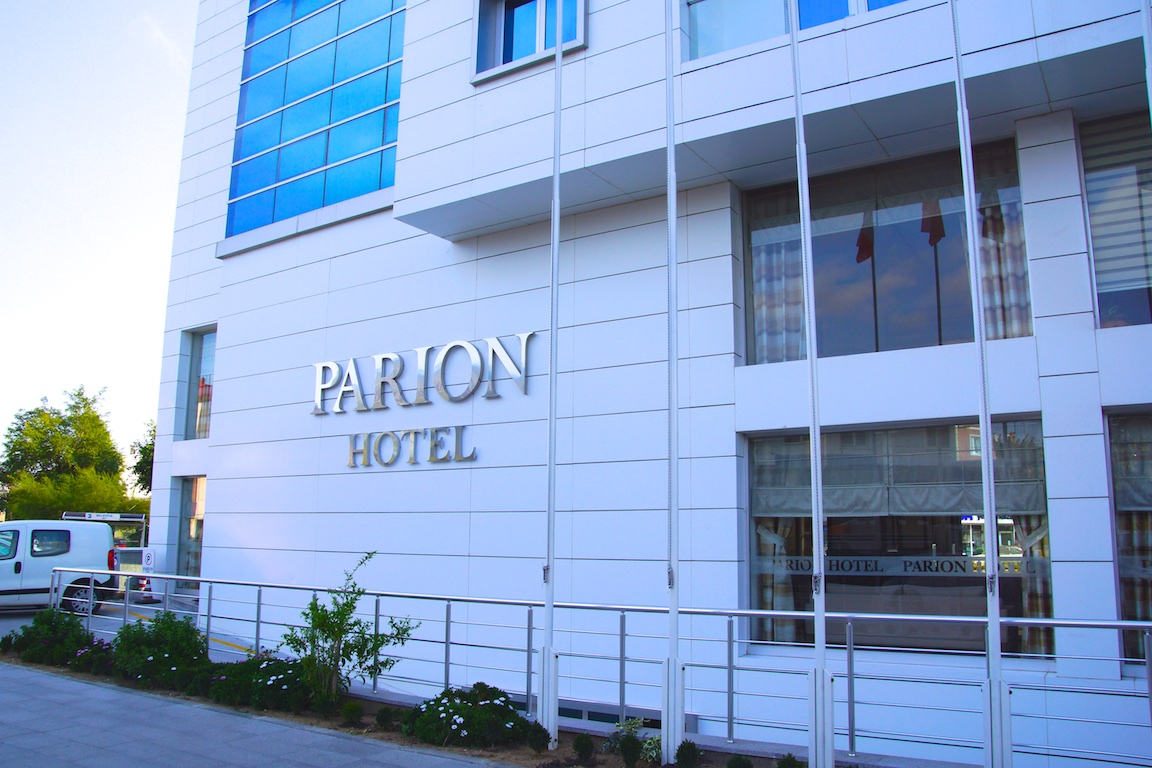 Parion Hotel in Canakkale - Erholsam und mit schönem Ausblick