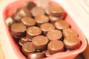 Valrhona - Cite du Chocolat - Pralinen