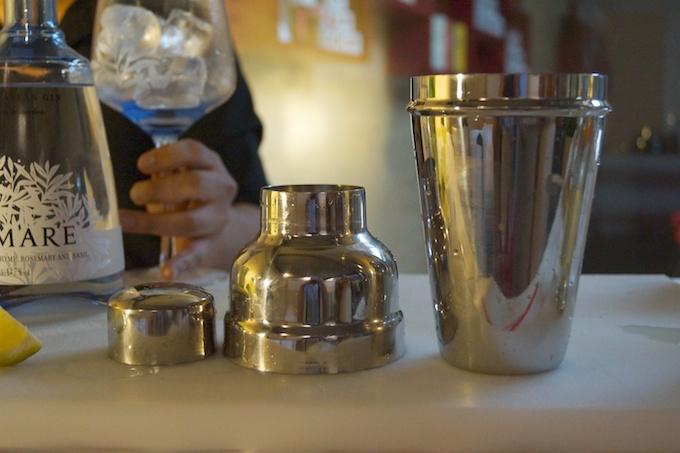 Mixer für Cocktails mit Gin