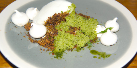 Cafe Sillon in Lyon - das Dessert