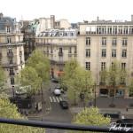 Napoleon Hotel Paris - Zimmeraussicht