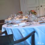 Restaurant De Karmeliet - Menü - Tischeindeckung