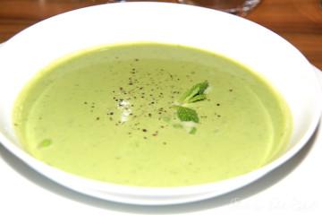 Suppe aus Gefriertrockung