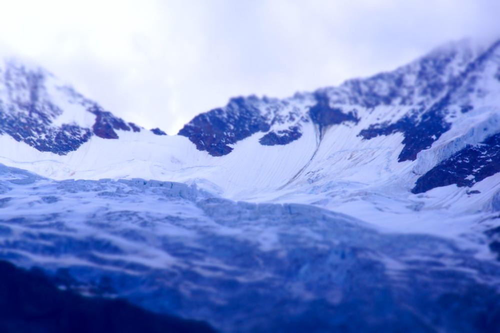Anreise ins Wallis - Gletscher gibt es hier viele