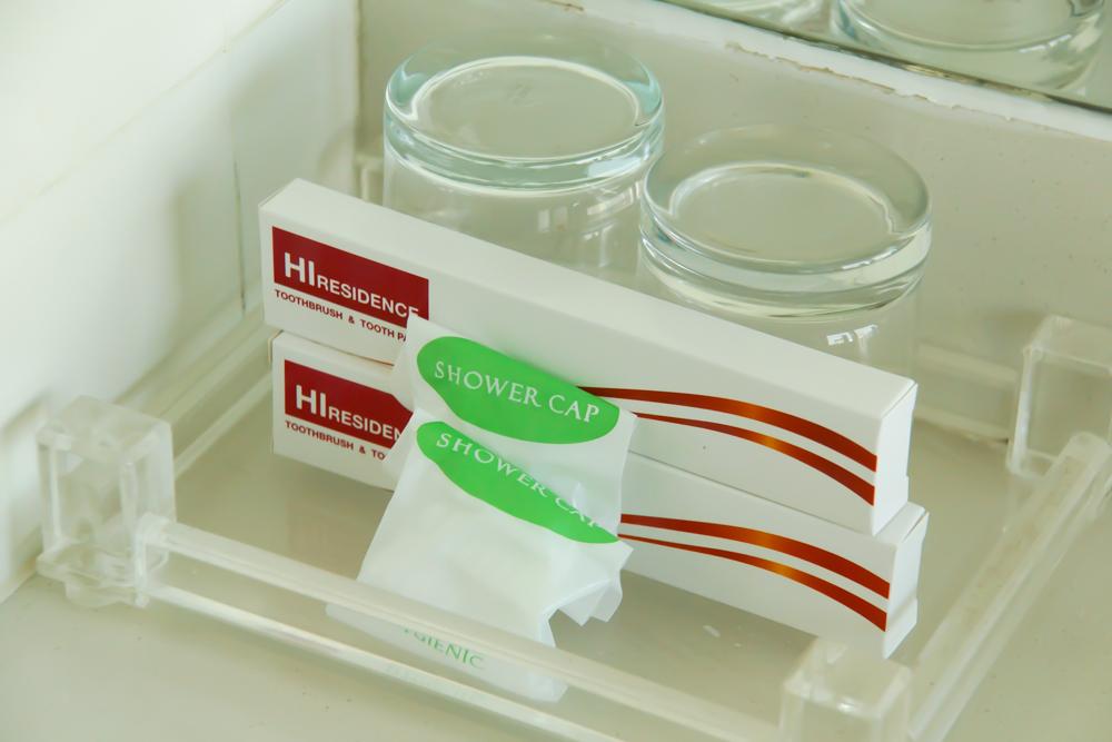 HI Residence Bangkok - Hygieneartikel im Bad
