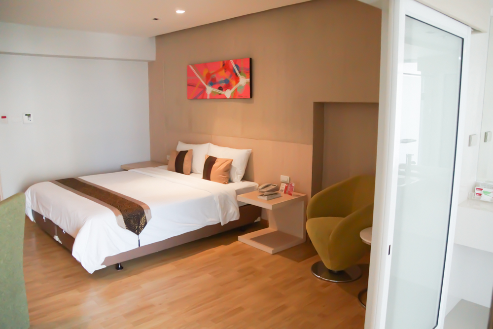 HI Residence Bangkok - Super bequemes Bett