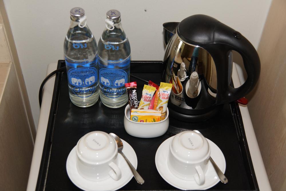 HI Residence Bangkok -Tee Kaffee und Wasser kostenlos