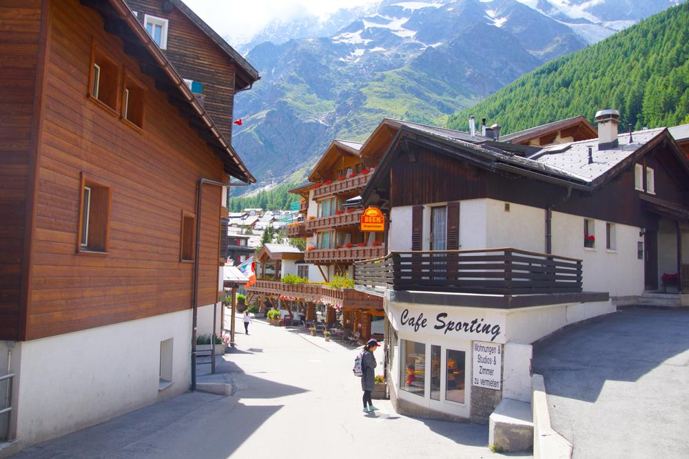 Malerische kleine Dörfer im Wallis