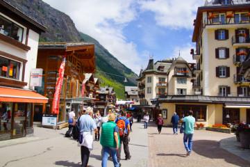 Zermatt - Urlauberhochburg und Qualitätstourismus
