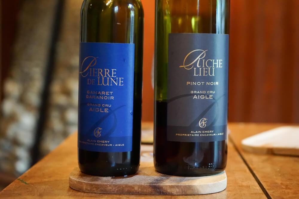Cave Alain Emery, Aigle, Waadt -grandiose Rotweine