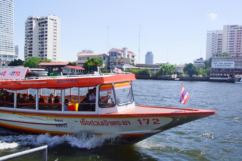 Chao Phraya Express Boote in Bangkok