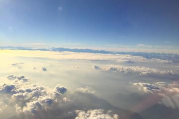 Mit Aeroflot fliegen und einer schönen Aussicht entgegen