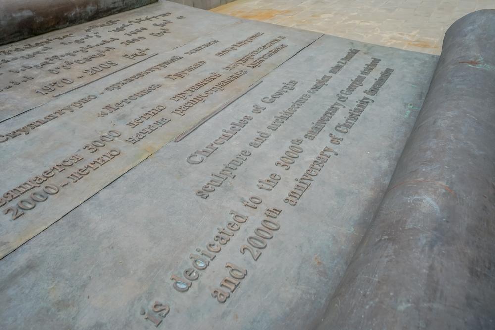 The Chronicle of Georgia - Georgische Schriften