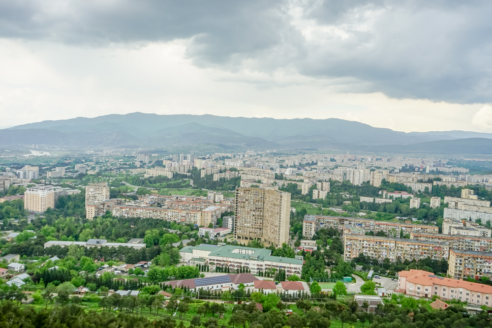 The Chronicle of Georgia - tolle Aussicht auf Tiflis