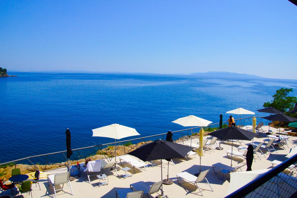 Ausblick vom Navis Hotel Opatija - Einfach zum Träumen schön