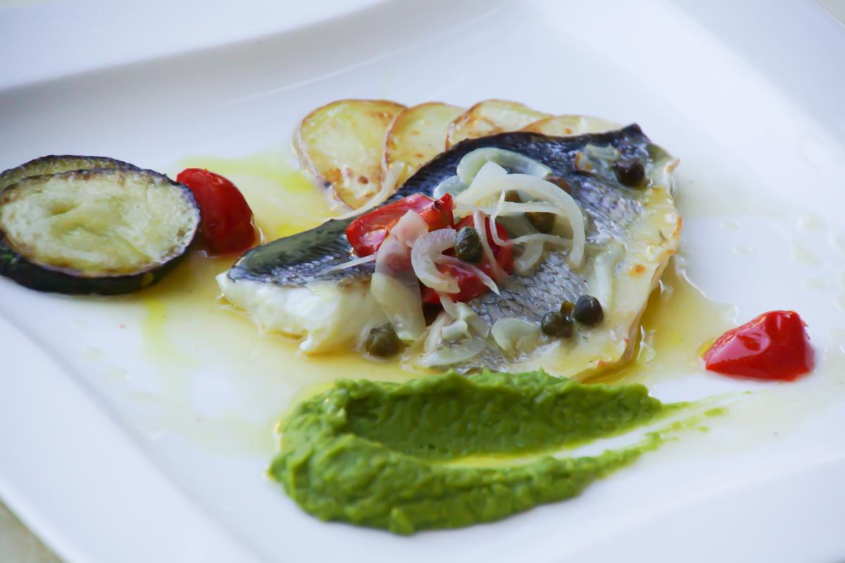 Kukuriku Restaurant in Kastav Fischgerichte